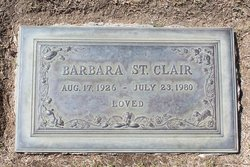Barbara Bray <i>Edwards</i> St Clair
