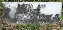 Bertha Mae <i>Parker</i> Maney
