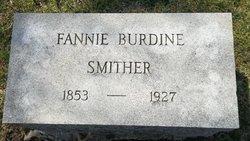 Mary Francis <i>Burdine</i> Smither
