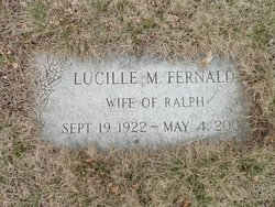 Lucille Mary G Lou <i>Collins</i> Fernald