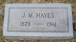 Joseph Madison Hayes