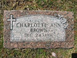 Charlotte Ann Brown