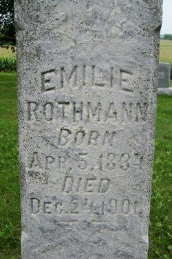 Emilie <i>Hackenschmidt</i> Rothmann