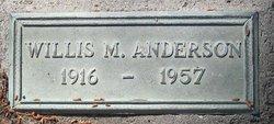 Willis Mack Anderson