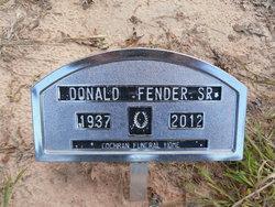 Donald Gene Fender, Sr