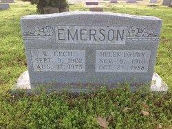 Helen <i>Drury</i> Emerson