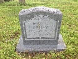 Rose B <i>Humphrey</i> Drury