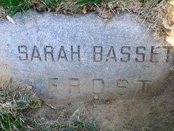 Sarah Jane <i>Bassett</i> Frost