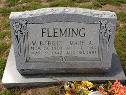 Mary Samantha <i>Adams</i> Fleming