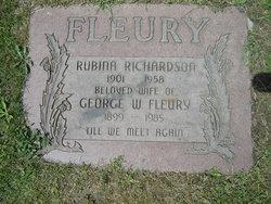 Rubina <i>Richardson</i> Fleury