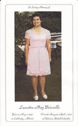 Lauretta May <i>Heggie</i> Boisselle