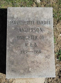 Marguerite Peggy <i>Pardee</i> Anderson