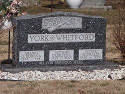 Dorothy M <i>York</i> Whitford