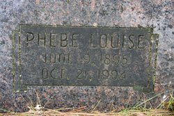 Phebe Louise Cole