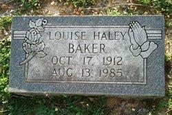 Louise Haley Baker