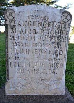 Pvt Laurence St. Clair DeRuchie
