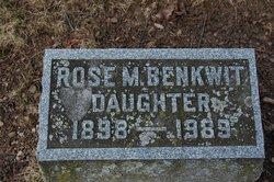 Rose Mary <i>Hohman</i> Benkwit