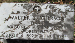 Walter S. Johnson