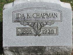 Ida <i>Evans</i> Chapman