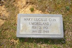 Mary Lucille <i>Moreland</i> Cain