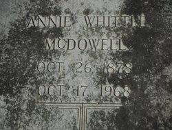 Annie <i>Whittle</i> McDowell
