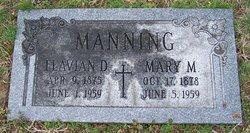 Mary Melissia <i>Moore</i> Manning