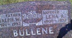 Lena A <i>Max</i> Bullene