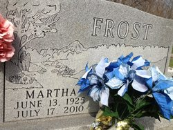 Martha <i>Colwell</i> Frost