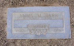 Anna M. <i>Walters</i> Barr