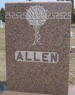 Melvina <i>Clapp</i> Allen