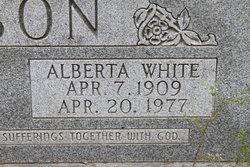 Alberta <i>White</i> Mason