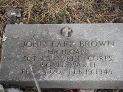 Sgt John Earl Brown