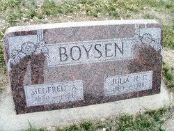 Siegfred A. Boysen