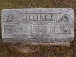 Mary Elizabeth <i>Watson Miller</i> Heliker