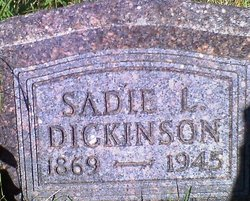 Sadie Dickinson