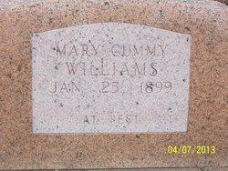 Mary Cummy Williams