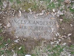 Francis Armita <i>Gossett</i> Anderson