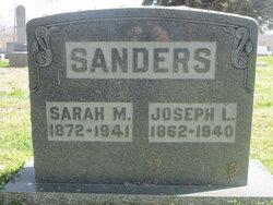 Sarah Miriah <i>Peters</i> Sanders