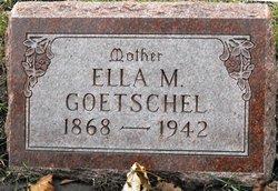 Ellen Mary Ella <i>Tamm</i> Goetschel