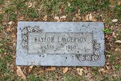 Baylor Lewis Agerton