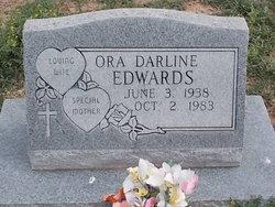 Ora Darline <i>Johnson</i> Edwards