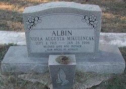 Viola Augusta <i>Mikulencak</i> Albin