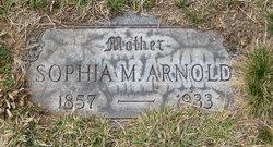 Sophia M Arnold