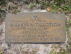 Hilary P Tillotson