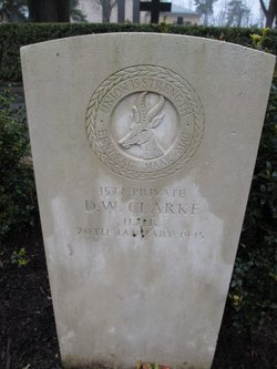 Pvt Douglas W Clarke
