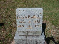 Emma P Adler