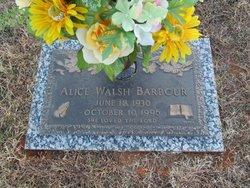 Alice <i>Walsh</i> Barbour