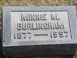 Minnie M. <i>McMillen</i> Burlingham
