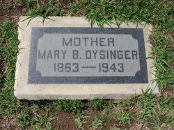 Mary Belle <i>Scott</i> Dysinger