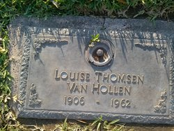 Louise <i>Thomsen</i> Van Hollen